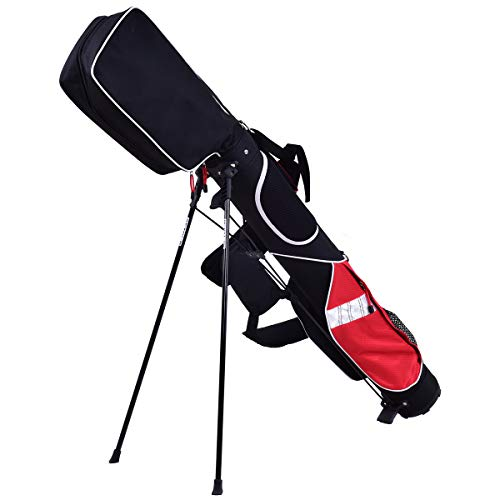 GYMAX Golf Stand Lightweight Bag