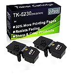 Cartucho de tóner para impresora láser Ecosys M5521CDN (alta capacidad), color negro