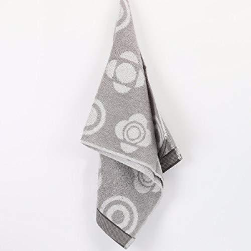 CMZ Toalla Suave cómoda de algodón Puro Toalla Simple Absorbente para el Rostro Toalla de algodón Liso Liso (34x76 cm)
