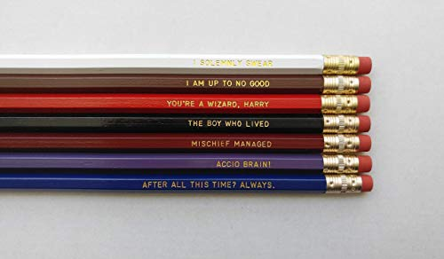 Pencil Set HP Gift Gold After All This Time Always Gift for Student Back to School Stocking Stuffer