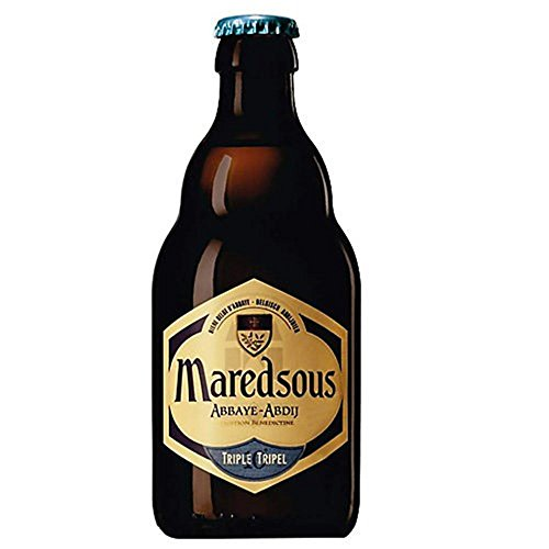 Original belgisches Bier- MAREDSOUS Triple 10% vol 6 x 33 cl. Karneval und Party!!