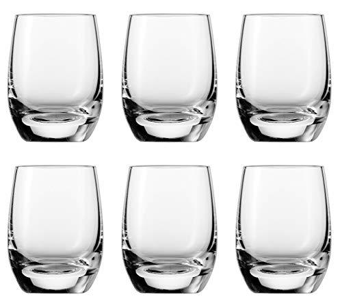 Schott Zwiesel BANQUET Glas-Kollection - Shotglas, 0.08 L, 6 Stück - elegant, nobel, für den täglichen Gebrauch