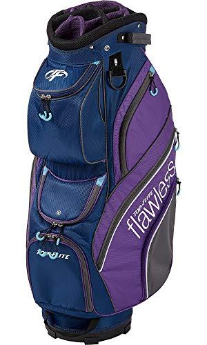 Top Flite Womens Flawless Golf Cart Bag (Navy/Purple)