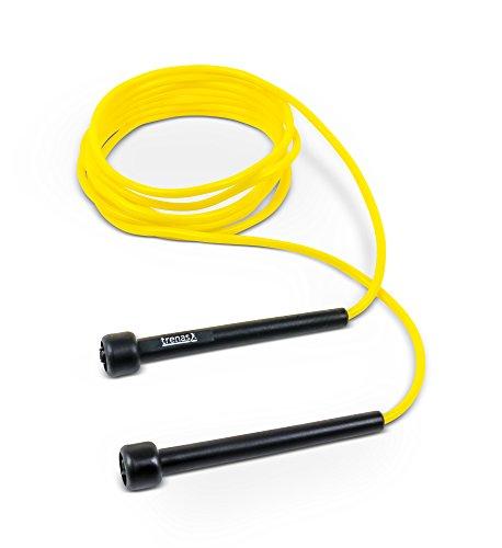 trenas 1x Springseil, Speed Rope 3 Meter, gelb