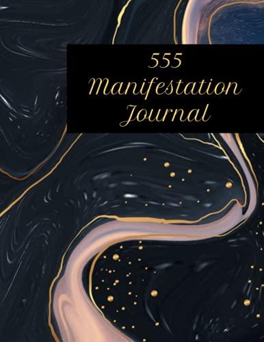 555 Manifestation Journal: Dark Current & Gold Strings Inkscape Theme