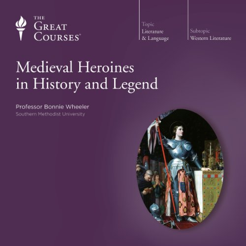 Medieval Heroines in History and Legend audiobook cover art