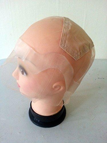 1 Thin Skin Perimeter Full Lace wig cap with ear to ear stretch./ 1 perruque de peau fine perruque pleine perruque de dentelle avec l'oreille à l'étir