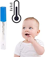 Medical Mercury Glass Thermometer Large Screen Clinical Medical Temperature Dec27 Ship