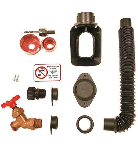 top rated EarthMinded DIY Rain Barrel Conversion Kit-Water Barrel / Rain Barrel Adapter Kit … 2020