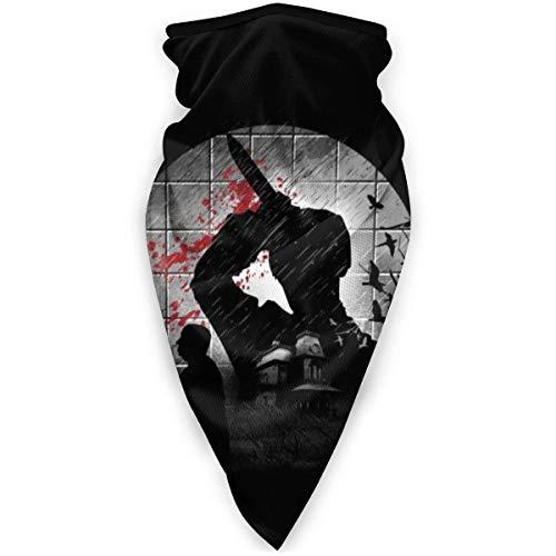 YUIT Psycho Silhouette Alfred Hitchcock Bufanda Bandanas para polvo, aire libre, festivales,...