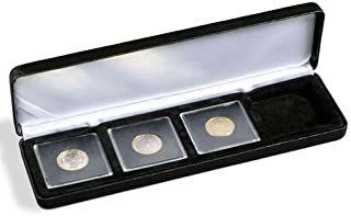 Coin Display Case by Lighthouse NobileQ4 Coin Box for Four Quadrum Holders by Quadrum