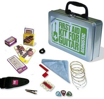 First Aid Kit for Acoustic Guitar (Guitar Kit)