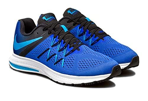 Nike Zoom Winflo 3 - Scarpe da Ginnastica Uomo, Blu, 39