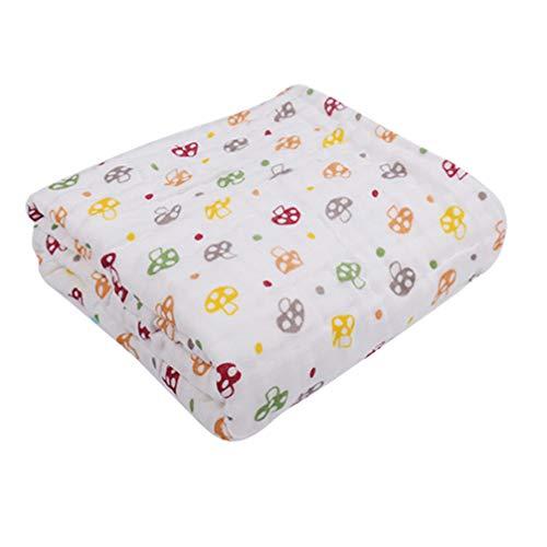 TOPBATHY katoenen baby washandjes 6 lagen baby handdoek zacht en super absorberende peuter bad handdoek pasgeboren douche cadeau voor jongen of meisje