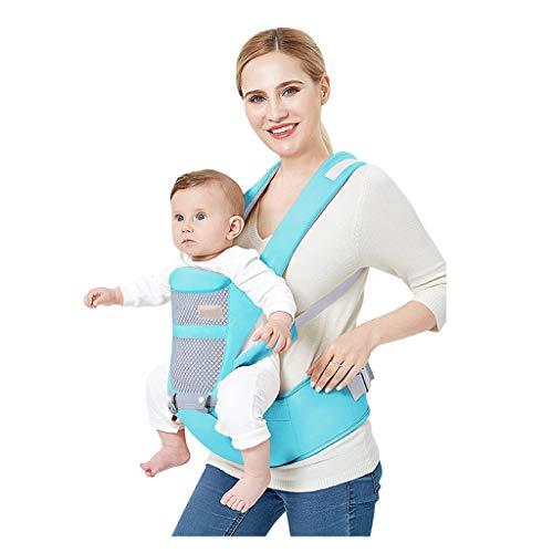 Sangle de Taille pour bébé, Banc d'absorption des Chocs Amovible en Coton Multifonction Quatre Saisons ( Color : B )
