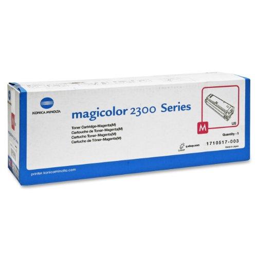 Konica Minolta 4576415 magicolor 2300 series Tonerkartusche 1.5K, magenta