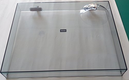 Original TECHNICS SL-1200MK2 SL-1210MK2 Plattenspieler Deckel mit Gelenken Made in Japan klar Modell