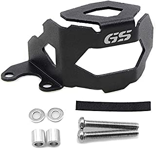 Aoile Motorcycle Oil Cup Cover Front Brake Pump Fluid Reservoir Guard Protector for BMW F800GS F700GS F650GS black