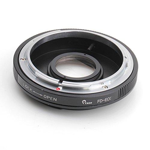 Pixco Anillo adaptador de montura para objetivo Canon FD a Canon EOS EF cámara 6D, 5D, 7D, 70D, 60D, 50D, 40D, 30D, 100D, 700D, 650D, 600D.