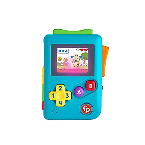 Fisher-Price Ridi & Impara Baby Console Gioca e Vai, Giocattolo Educatico con Musica, Suoni e Frasi, per Bambini 6+Mesi, HBC87