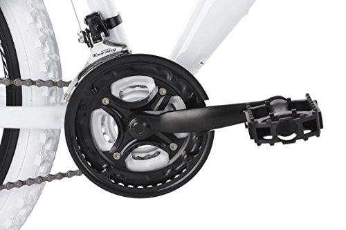 KS Cycling Erwachsene Mountainbike MTB Fully 26″ Topspin weiß-blau Fahrrad - 2