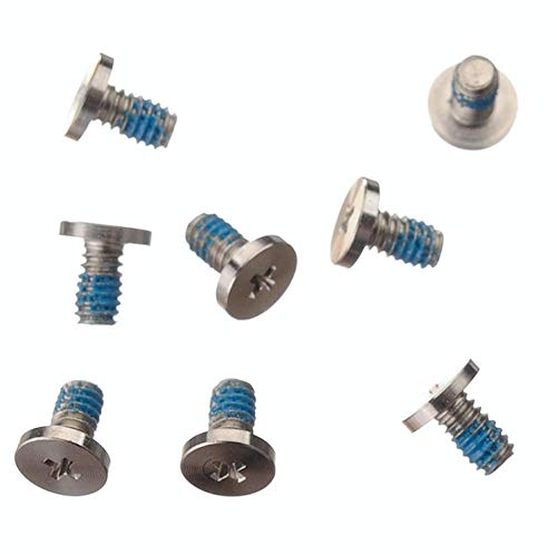 THE TECH DOCTOR Replacement Bottom Base Screws 8 Piece Set for Macbook Unibody A1342 13' 2009 2010 Models