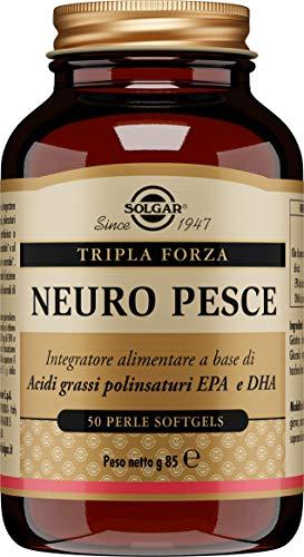 Solgar Neuro Pesce, Integratore Alimentare, 85 g