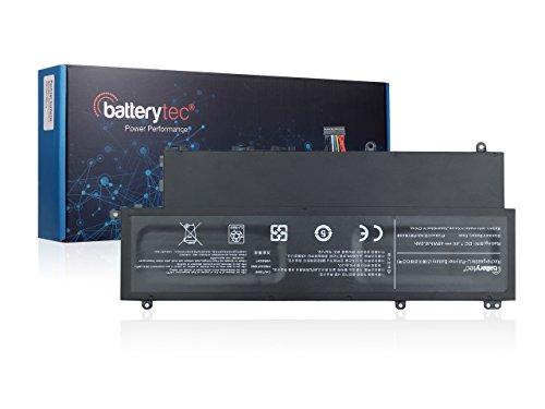 Batterytec® Laptop Akku für SAMSUNG NP530U3B NP530U3C 530U3B 530U3C NP540U3C 540U3C Series, SAMSUNG 530U3B-A01 530U3B-A02 530U3B-A04, Samsung 530U3C-A02 530U3C-A05, AA-PBYN4AB,AA-PLWN4AB. [7.4V 6100mAh, 12 Monate Herstellergarantie]