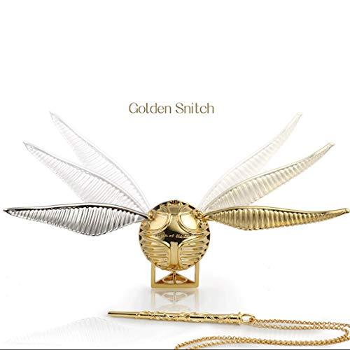 Caja de joyería de Harry Potter, caja de anillo de oro de Snitch creativa, el mejor regalo para niños y niñas de BR, Metal,
