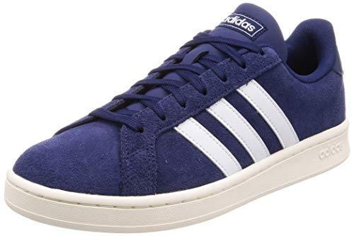 Adidas Grand Court, Zapatillas de Tenis para Hombre, Azul (Azuosc/Ftwbla/Blanub 000), 39...