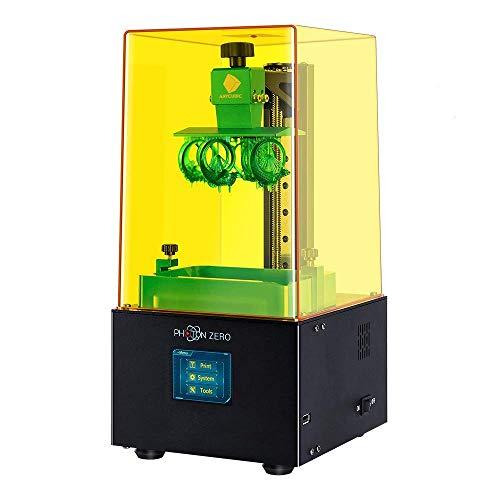 ANYCUBIC Photon Zero 光造形式 3Dプリンター 本体 小型 405nm UV LCD 3Dプリンタ 造形サイズ 97×54×150mm ...