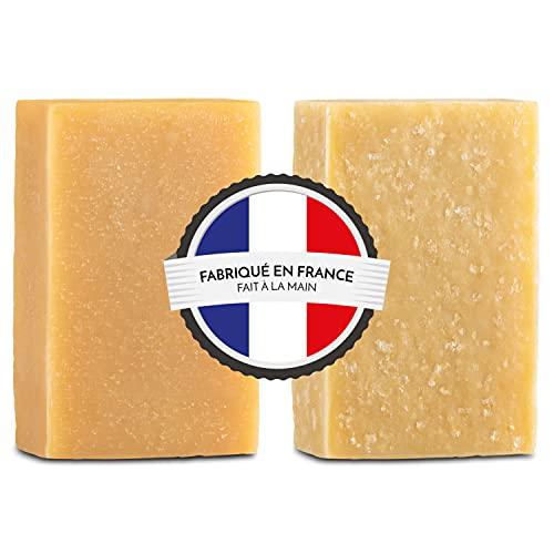 Saponi Latte di Capra Artigianali made in Francia 100% Naturale - 20% Latte di Capra Fresco - 1x...