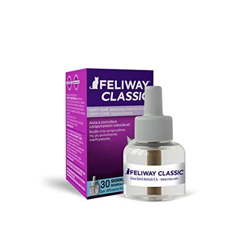 FELIWAY Classic – Antistress per Gatti – Ricarica - 1 x 48 ml