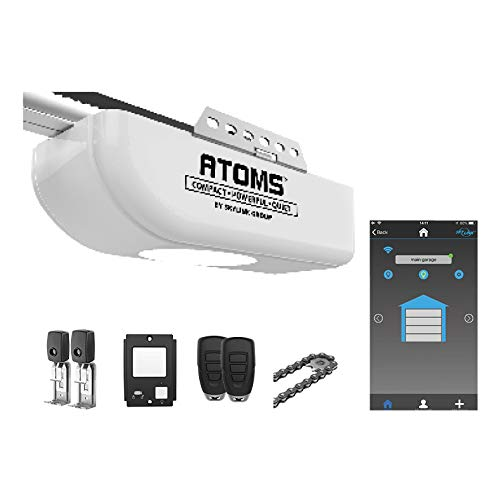 Save %5 Now! Atoms ATR-1722W by Skylink 3/4HPF Garage Door Opener Featuring Alexa with Extremely Qui...