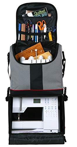 ArtBin 6922SA - Mochila y maletín con Ruedas, Color Blanco, Rojo y Negro