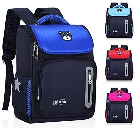 Best- Best Boy's Schoolbag Schoolbag 1-3-5 Space for Children in Grades Primary School Students Schoolbag Best- Best (Color : 3)