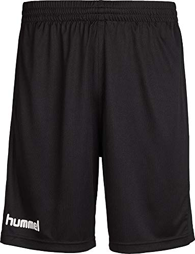 hummel Herren Atmungsaktiv Core Poly Shorts, Black Pr, S