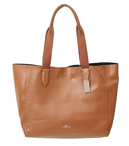 DERBY TOTE IN PEBBLE LEATHER (Brown)