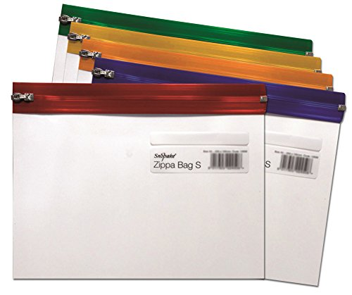 Snopake 12722 - Paquete de 25 Fundas de plástico para Material de Oficina, Transparente