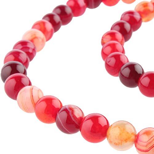 Rund Perlen Perlen Achat Rot Natuerliche Rot Karneol Charming Beads Strang Rund Perlen Natuerliche Charming Glas Perlen Charming Rund Perlen Perlen Achat Schmuckherstellung Strang Approx 6mm 0.2inch