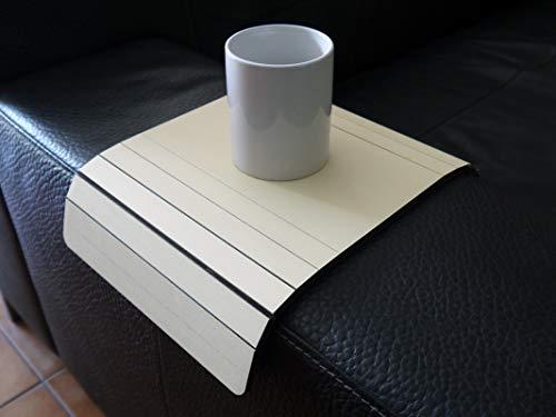 Holz sofa armlehnentisch in vielen farben wie creme Armlehnentablett moderner tisch für couch Klein schleichendes sofatisch Armlehne flexibel tablett Falten couchtisch Kleine tische für das wohnzimmer