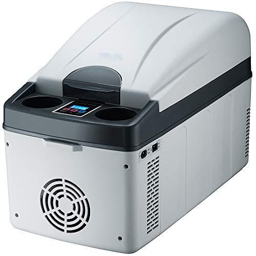 YSYW Frigorifero per Auto, Frigorifero per Auto Compressore da 20L Mini Frigo Portatile A Doppio Uso Frigorifero Minimo 20 ° C