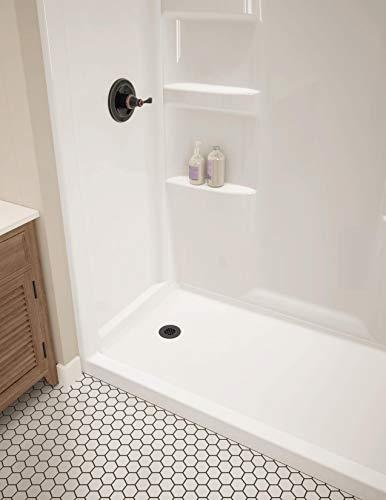 Delta Faucet ProCrylic Left-Drain Shower Base