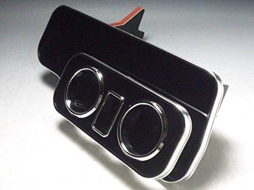 数量限定 ムーヴコンテカスタム フロントテーブル ブラック 携帯ホルダー中央 ブラックフルメッキ
