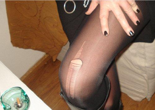 Fréderic Niemental 5-delige set foto kunst vouwkaart met panty als party bedankkaart