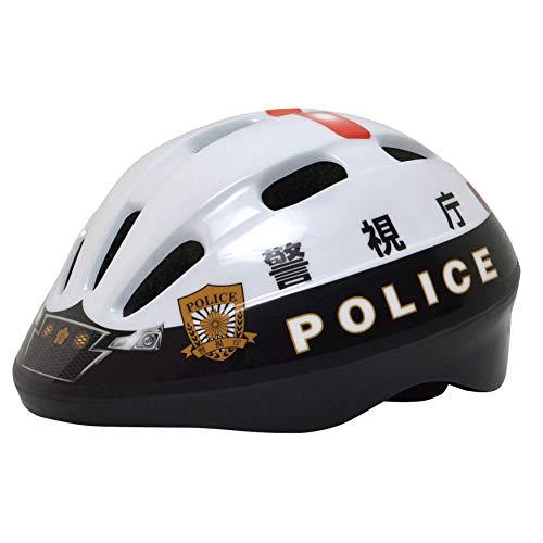 Kanack(カナック) キッズヘルメット [警視庁パトカーヘルメット] SG規格適合品 3歳~8歳 自転車 キックバイク