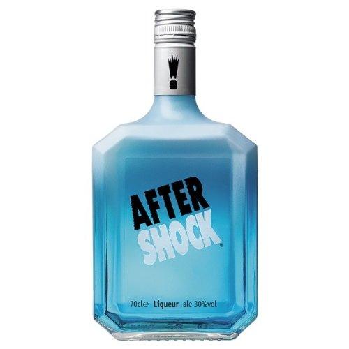 Photo of 70cl Aftershock Blue Cool Citrus Liqueur (Case of 6)