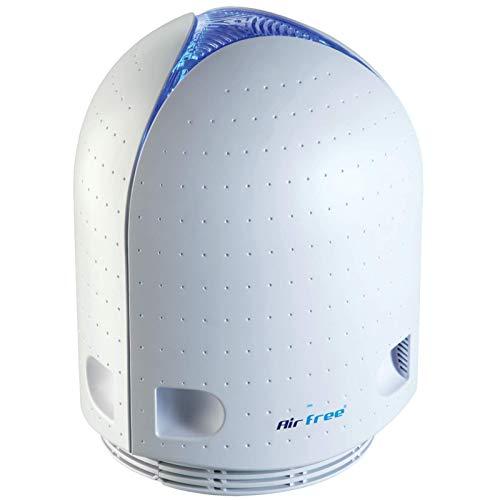 Purificador de aire IRIS 150 adecuado para 60 m² blanco, sin filtro, silencioso y sin mantenimiento, aerosoles sin dejar residuos, el purificador de aire para un aire limpio.