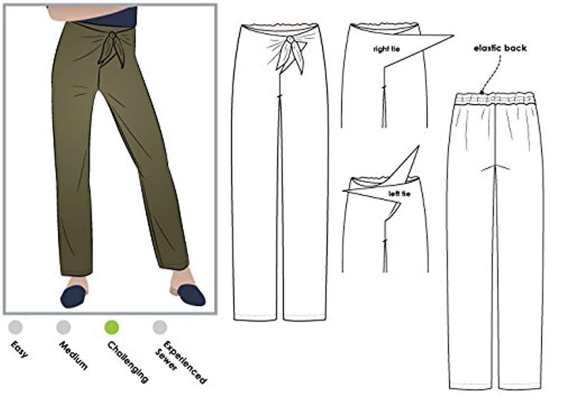 Style Arc Sewing Pattern - Trudy Pant (Sizes 04-16) - Click for Other Sizes Available