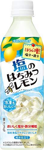 塩のはちみつレモン 490ml×24本 PET